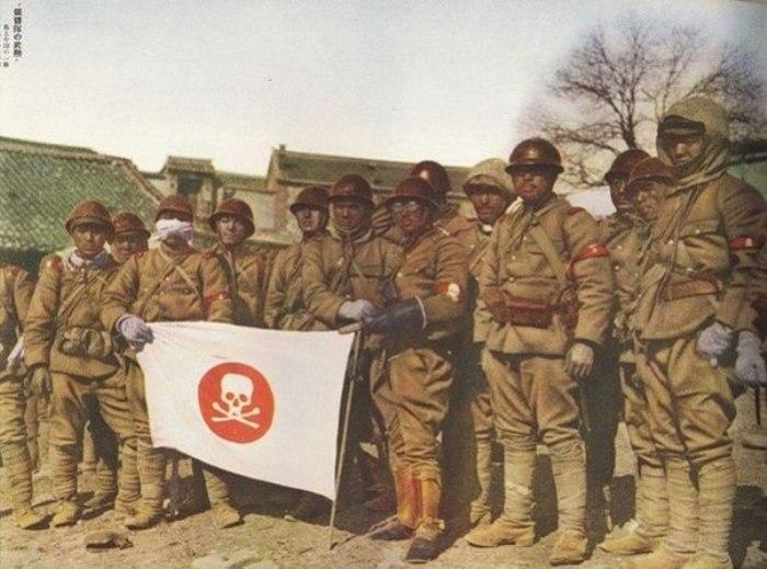 Сотрудники «Отряда 731». | Фото: fishki.net.