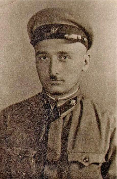 Тенгиз Шавгулидзе в 1941 году. | Фото: vsr.mil.by.