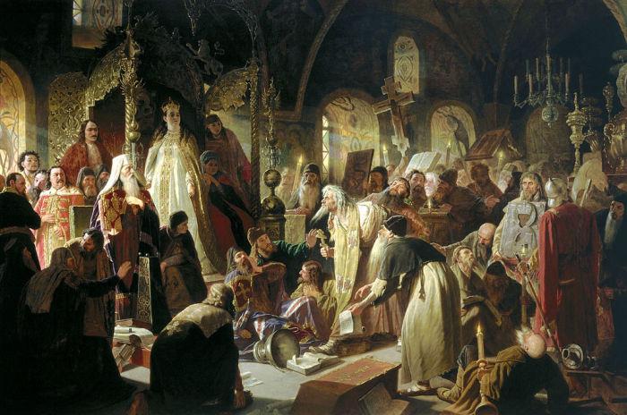 Никита Пустосвят. Спор о вере. В.Г. Перов, 1880-1881 гг. | Фото: ru.wikipedia.org.