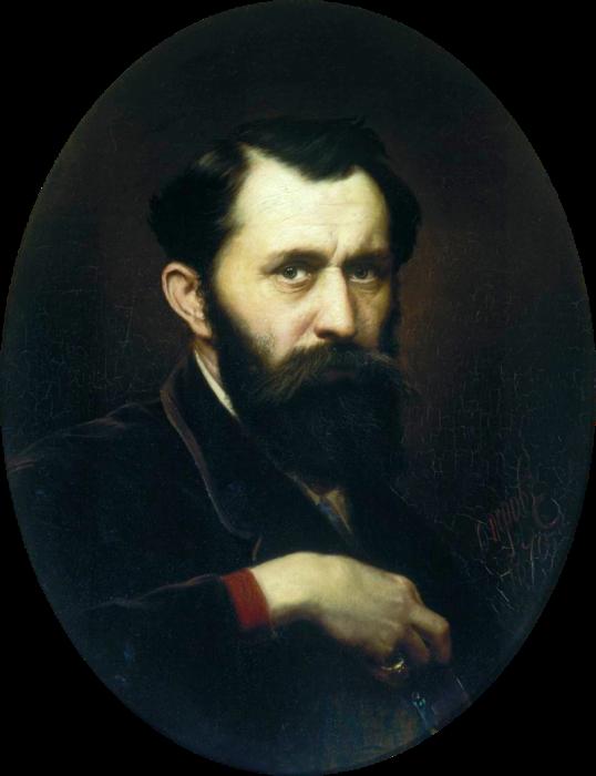 Автопортрет. В. Г. Перов, 1870 год. | Фото: ru.wikipedia.org.