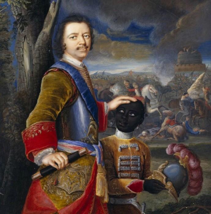 Портрет царя Петра I. Густав фон Мардефельд, 1707 год. | Фото: it.pinterest.com.