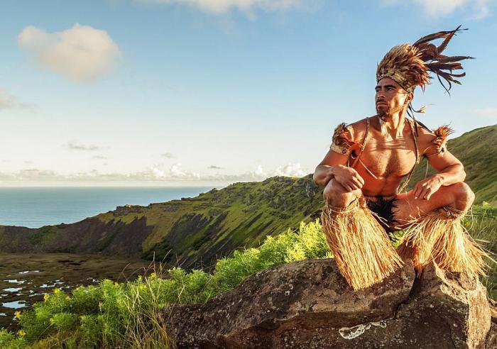 Мужчина из племени рапануи. | Фото: robertharding.com.