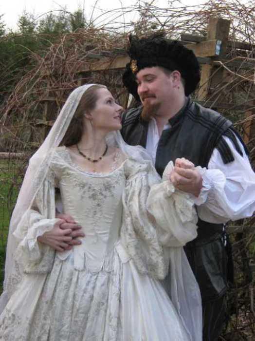 Свадьба эпохи Возрождения.| Фото: pinterest.com.