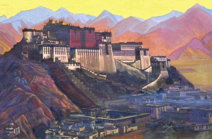 Н. К. Рерих. Твердыня Тибета. | Фото: zolotayapalitra.ru.