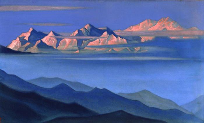 Н.К. Рерих. Гора Канченджанга. | Фото: roerih.ru.