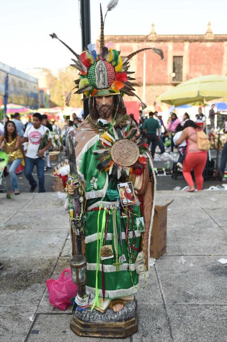 Мексиканская статуя Святого Иуды Фаддея. | Фото: camara.cc.