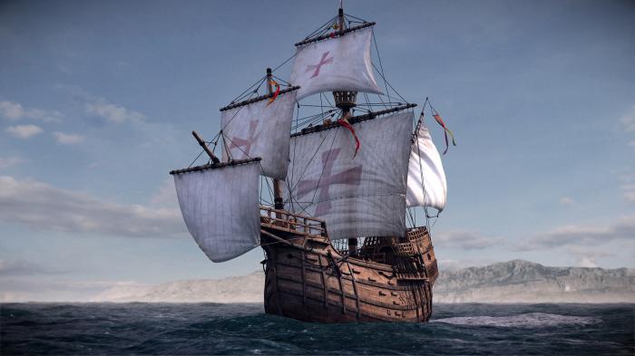«Санта Мария» - знаменитый корабль первооткрывателя Америки. | Фото: secretworlds.ru.