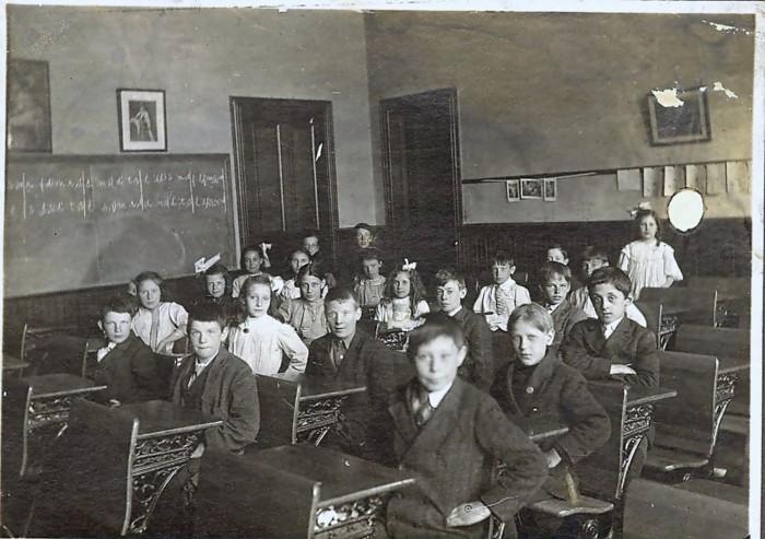 Британские школьники периода викторианской эпохи. | Фото: blog.findmypast.co.uk.