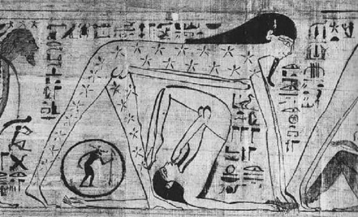 Эротичные рисунки Древнего Египта. | Фото: all-that-is-interesting.com.