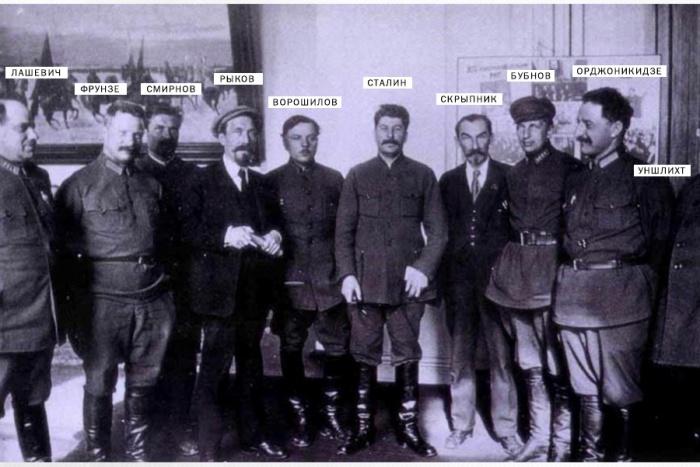 Групповое фото 1925 года. | Фото: scisne.net.