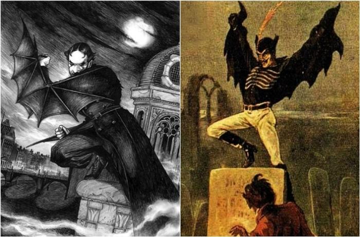Джек-прыгун – первый супергерой комиксов. | Фото: 078.com.ua и pinterest.com.
