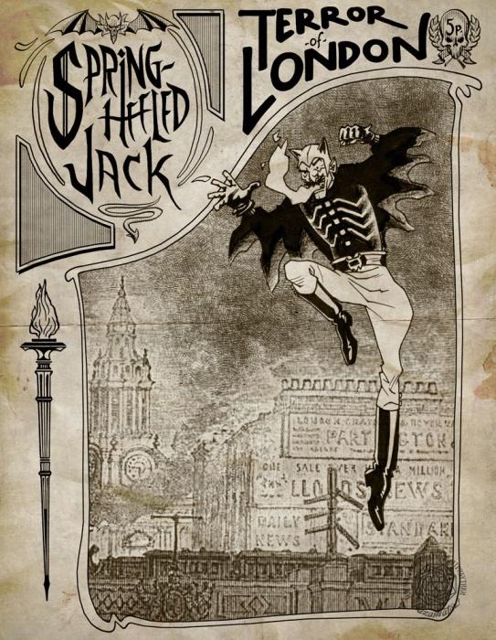 Джек-прыгун терроризирует Лондон. | Фото: razamataz.ru.