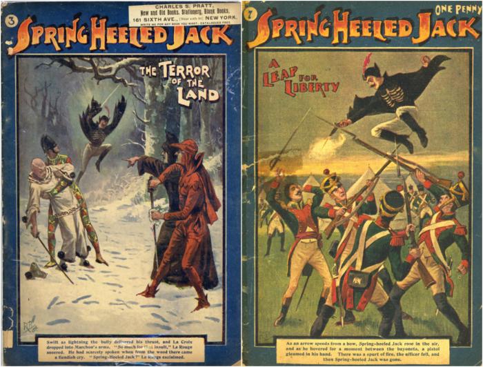 Комиксы с Джеком-прыгуном. | Фото: pinterest.com.