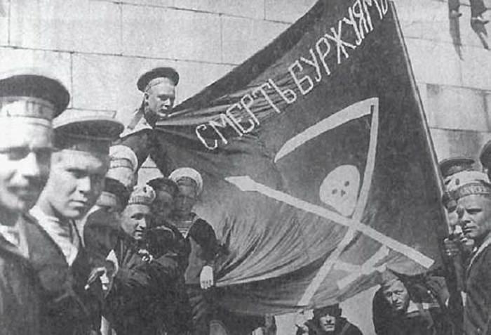 Российские революционные матросы, 1917-1918 гг. | Фото: secrethistory.su.