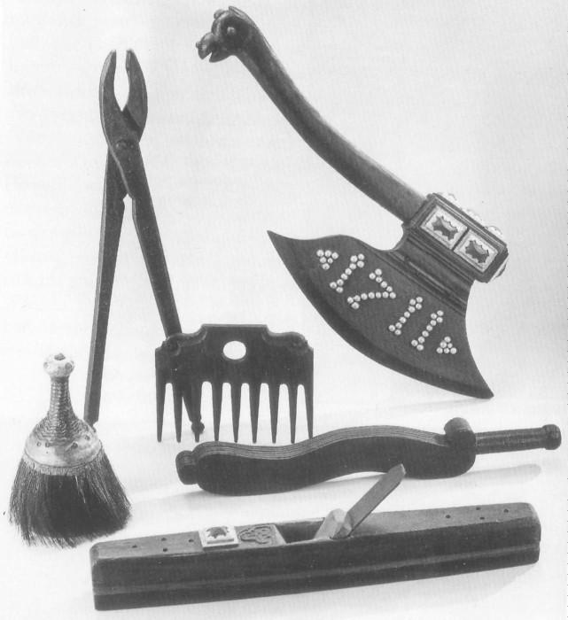 Инструменты депозитора из Лейпцигского университета. | Фото: staff.uni-marburg.de.