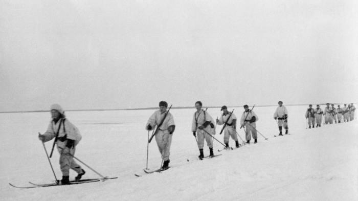 Финские лыжники. | Фото: peda.net.