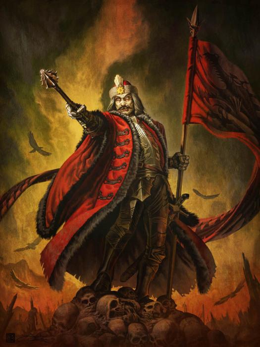 Влад Дракула – жестокий воин и правитель Валахии. | Фото: lurkmore.to.