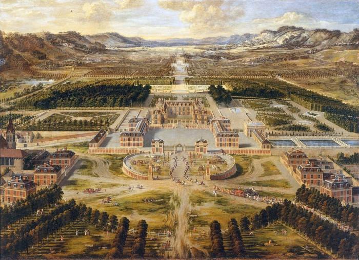 Версальский дворец. Pierre Patel, 1668 год. | Фото: fiveminutehistory.com.