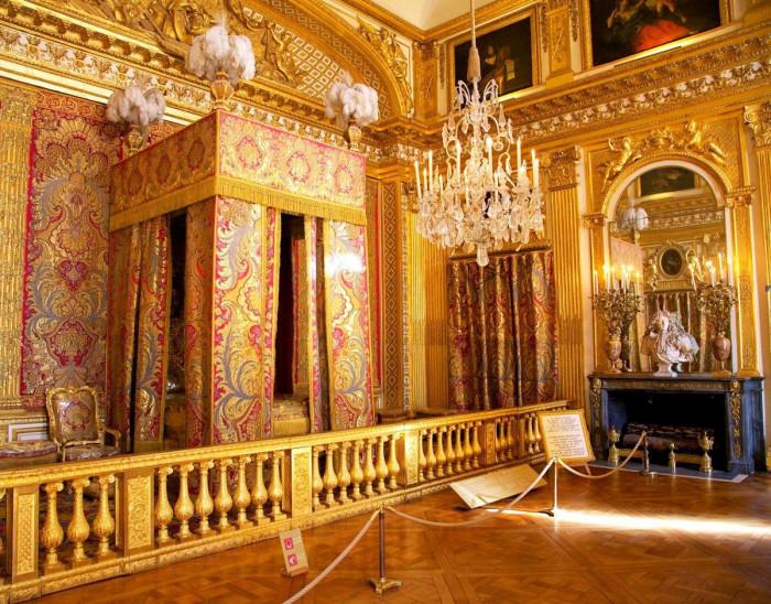 Апартаменты короля Франции, Версальский дворец. | Фото: fiveminutehistory.com.