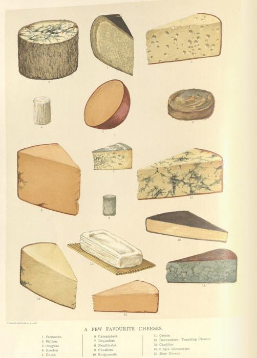 «Несколько любимых сыров». | Фото: nyamcenterforhistory.org.