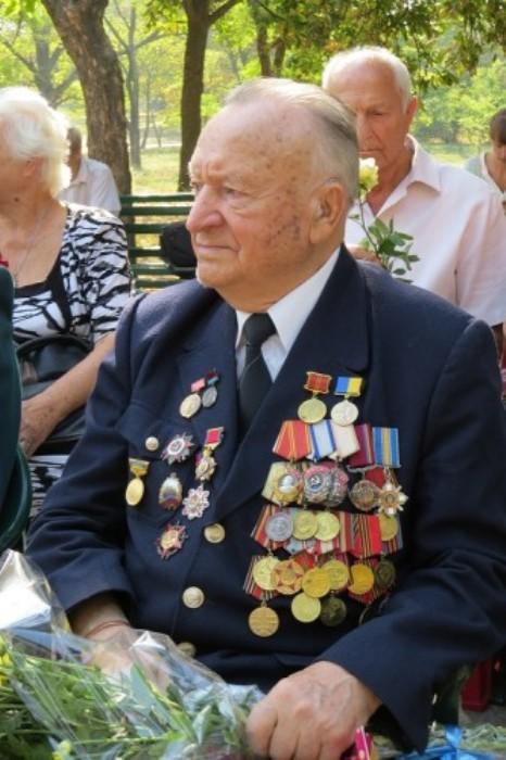 Владимир Петрович Казначеев – ветеран Великой Отечественной войны, проживает в Херсоне. | Фото: np.ks.ua.