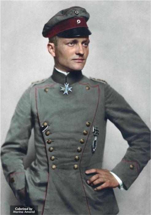 Знаменитый «Красный барон» - немецкий ас Манфред фон Рихтгофен. | Фото: ddoughty.com.