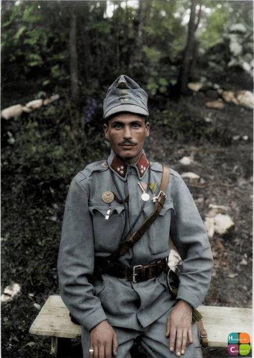 Австрийский солдат. | Фото: pinterest.com.
