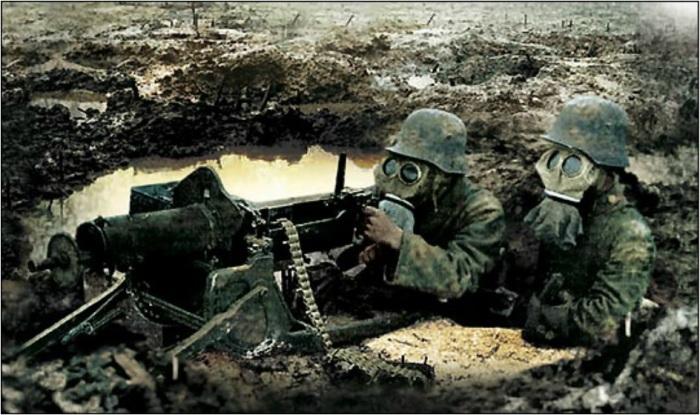 Немецкие пулеметчики. | Фото: ddoughty.com.