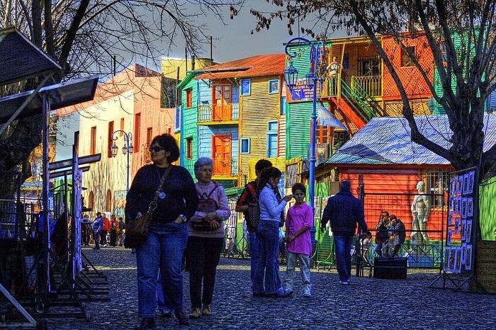 Красочные дома Ла Бока