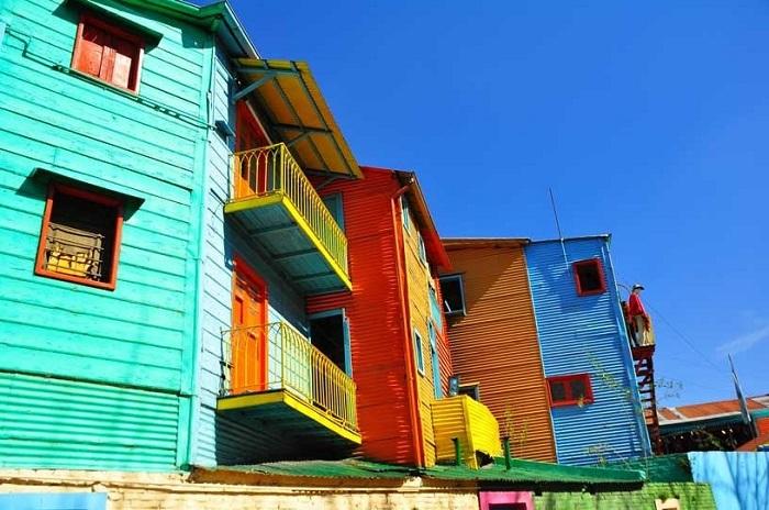 Разноцветные дома – визитная карточка Эль Каминито