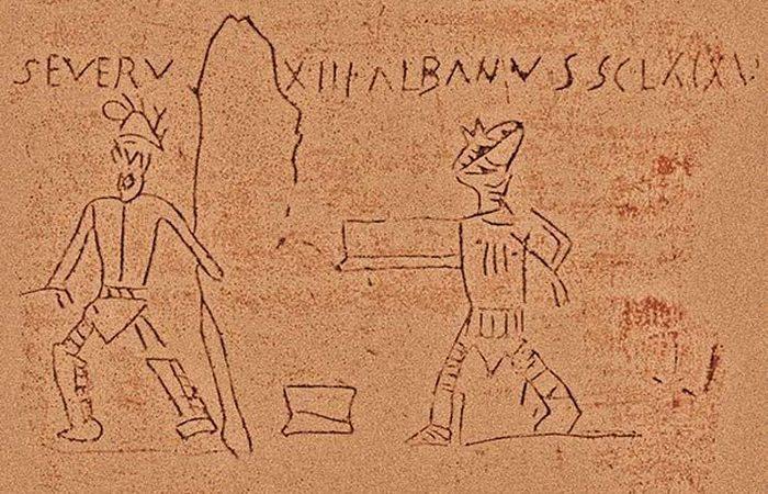Римское изобретение: граффити.