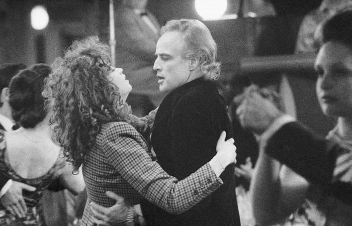 Кадр из фильма режиссера Бернардо Бертолуччи «Последнее танго в Париже», 1972 год.