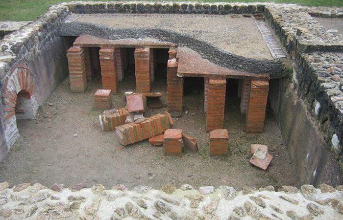 Римское изобретение: центральное отопление.
