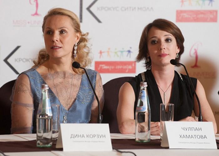 Благотворители Чулпан Хаматова и Дина Корзун./ Фото: russedina.ru
