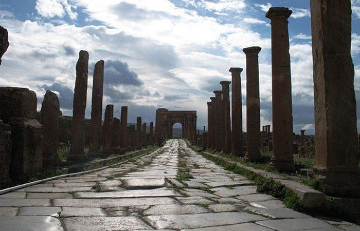 Римское изобретение: дороги и шоссе.