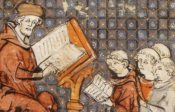 Средневековые нравы: предпочтения в чтении.