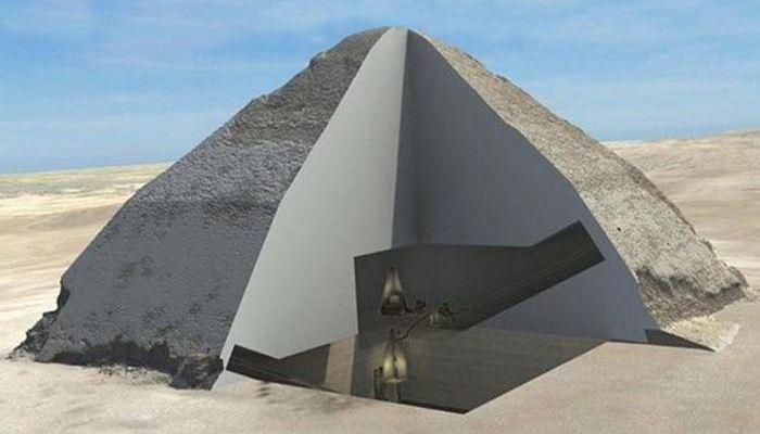 Малоизвестная «Пирамида Снофру».