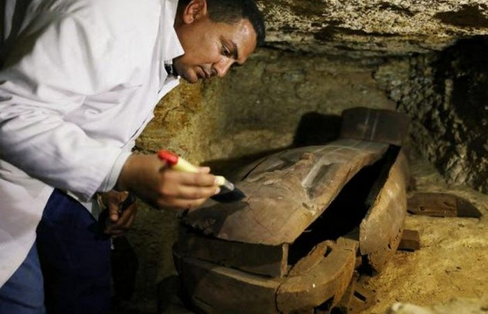 Древний Египет: кладбище жрецов Тота.