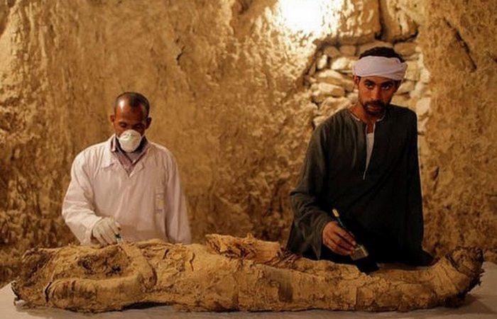 Древний Египет: частные гробницы Луксора.