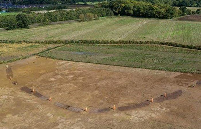 Открытие на древних раскопках: «Виндзорский круг».