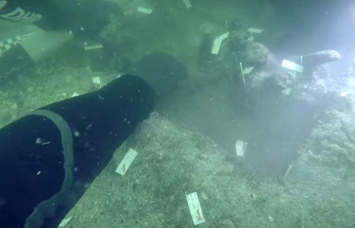 Открытие на древних раскопках: «Кладбище под водой».