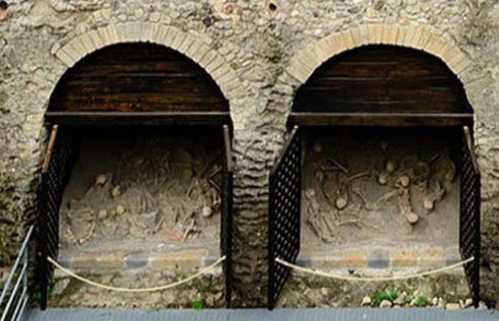 Итальянский археологический сюрприз: пирокластический выброс Везувия.