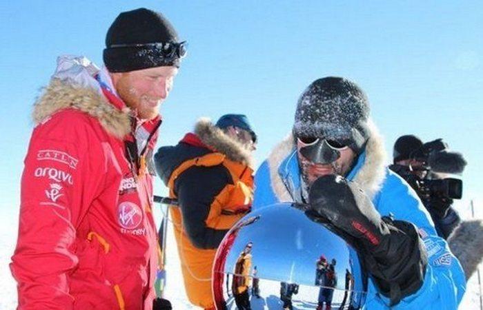 Необычное путешествие в Антарктиду принца Гарри.