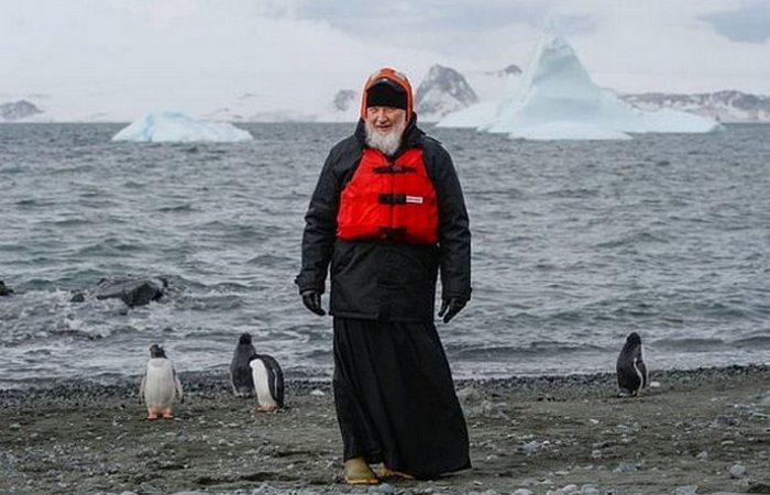 Необычное путешествие в Антарктиду патриарха Кирилла.