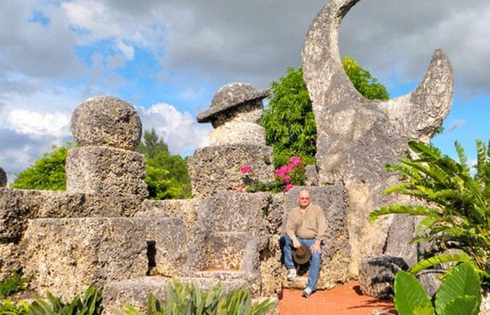 «Коралловый замок» во Флориде.