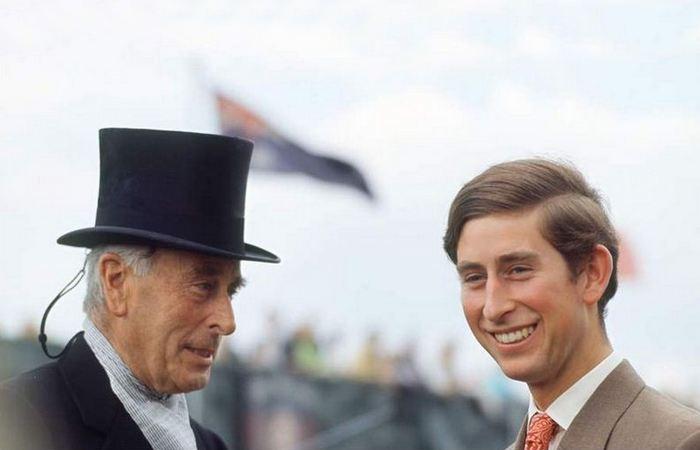 Лорд Маунтбеттен и принц Чарльз./ Фото: metronews.ru