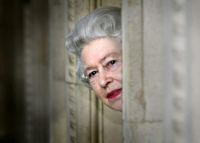 Елизавета II и безработный болтун./ Фото: royals-mag.ru