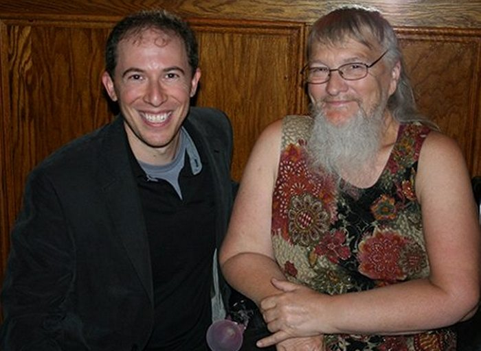 Бородатая женщина Вивиан Уилер.