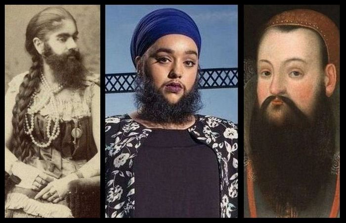 Бородатые женщины...