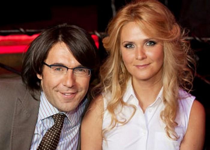 Благотворители Андрей Малахов и Наталья Шкулева./ Фото: plin.ru